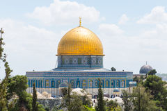 Al-Aqsa Mosque. Is the third holiest site in Islam located on the Temple Mount in the Old City of Jerusalem, Israel royalty free stock photo