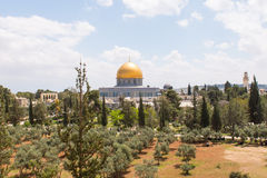 Al-Aqsa Mosque. Is the third holiest site in Islam located on the Temple Mount in the Old City of Jerusalem, Israel royalty free stock photos