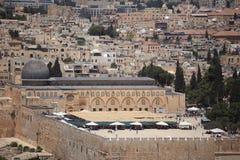 Al-Aqsamoské från Dominusen Flevit Royaltyfri Foto
