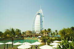 Al arab water park Royalty Free Stock Photos