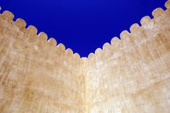 al arabscy Dubai fortu khaimah ras Zdjęcia Stock