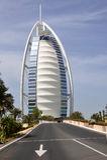 al arabski burj Dubai hotel Fotografia Royalty Free