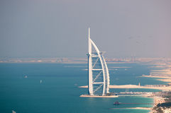 al arabski burj Dubai widok obrazy stock