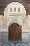 Al-Attarine Madrasa σε Fes, Μαρόκο Στοκ φωτογραφία με δικαίωμα ελεύθερης χρήσης