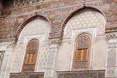 Al Attarine Madrasa Obraz Stock