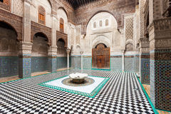 Al Attarine Madrasa Stock Photos