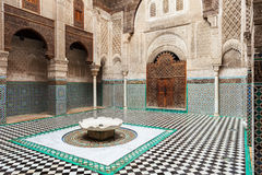 Al Attarine Madrasa Royalty Free Stock Photography