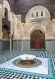 Al Attarine Madrasa in Fez, Morocco Stock Photos