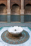 Al Attarine Madrasa in Fez, Morocco Royalty Free Stock Photos