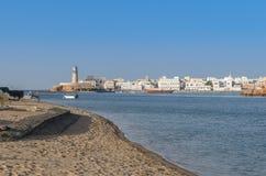 Al Ayjah Sur Oman royalty-vrije stock afbeelding