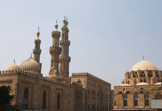 Al Azhar, le Caire Photo stock