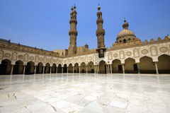 Al-Azhar Mosque. In Cairo, Egypt Royalty Free Stock Image