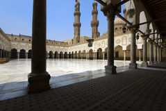 Al-Azhar Mosque Stock Images