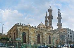 Al Azhar Mosque Royaltyfria Foton