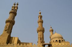Al azhar mosque in cairo Stock Images