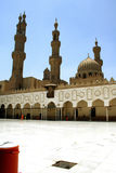 Al-azhar mosque in cairo. Egypt royalty free stock image