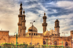 Al-Azhar Mosque in Cairo Royalty Free Stock Photos