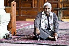 Al-Azhar Mosque. Religious inside the mosque of al azhar in Cairo, Egypt Royalty Free Stock Photo