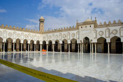 Al-Azhar Mosque and University, Cairo. The Ancient Al-Azhar Mosque and University, Cairo Stock Photo