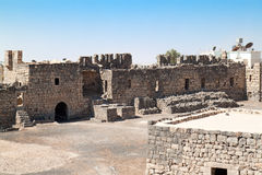 Al Azraq desert castle Stock Photo