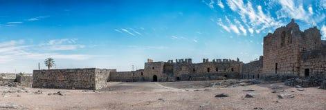 Al Azraq, pustynia kasztel, Jordania fotografia stock