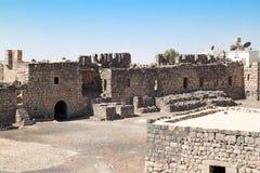 Al Azraq woestijnkasteel Stock Foto