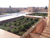 Al-Badii del palacio Imagen de archivo libre de regalías