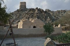 Al Badiyah meczet obraz stock