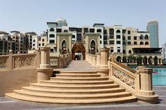 Al bahar迪拜购物中心souk 免版税图库摄影