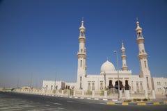 Al-Bahya Mosque, Abu Dhabi, UAE Stock Image