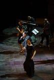 Al Bano de concert au théâtre de Liceu à Barcelone Photos stock