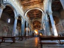 Al baslica二佛罗伦萨意大利monte salvatore ・圣 免版税图库摄影