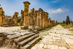 Al-Bass Archaeological Site Tyre Sur South Lebanon. Al-Bass Archaeological Site Tyre Sur in South Lebanon Middle east stock image