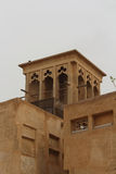 Al Bastakiya -历史的区在迪拜 迪拜jumeirah madinat塔风 免版税库存图片