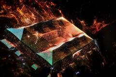 Al Bayt Stadium au Qatar, présentation de Digital Images libres de droits
