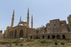 al Beirut Lebanon meczetu omari Obrazy Stock
