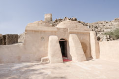 Al Bidyah清真寺富查伊拉阿拉伯联合酋长国 免版税图库摄影