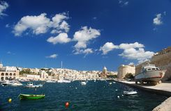 Al Bighi Sally Port in Vittoriosa Fotografie Stock
