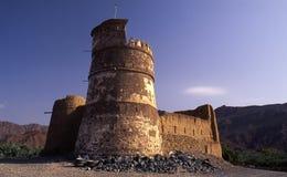 Al Bithna堡垒,富查伊拉 库存照片
