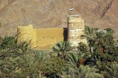 Al Bithna Fort, near Fujaira, Circa 1735 Royalty Free Stock Photo