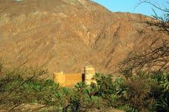 Al Bithna Fort, near Fujaira, Circa 1735 Stock Images