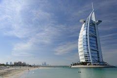 al burj hotel arabskiego Zdjęcia Royalty Free