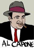 Al Capone Imagen de archivo libre de regalías