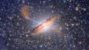 Al centro della galassia video d archivio