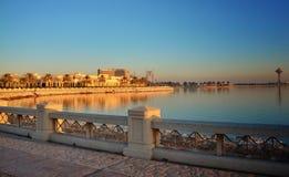 Al-Chubar goldene Sonne lizenzfreie stockfotografie