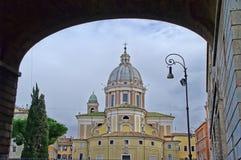 Al Corso βασιλικών SAN Carlo στη Ρώμη, Ιταλία Στοκ Φωτογραφία