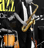 Al dat jazz Stock Foto's