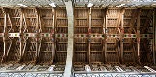 Al de madera Monte, Florencia, Firenze, Toscany, Italia de San Miniato del tejado fotos de archivo
