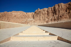 Al-Deir Al-Bahari temple, Egypt Royalty Free Stock Image