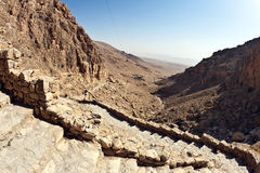al deir habashi Mar Musa nebek Syria Fotografia Stock